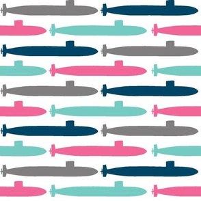 Submarine Squadron - Colorful