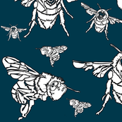 Bee - Sea Green 1