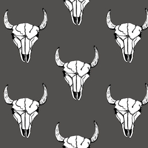 Bull_Skull_Charcoal_Large_Scale