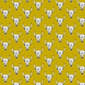 Bull_Skull_Yellow_Large_Scale