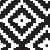 Aztec  // black