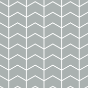 chevron // grey - Northern Lights