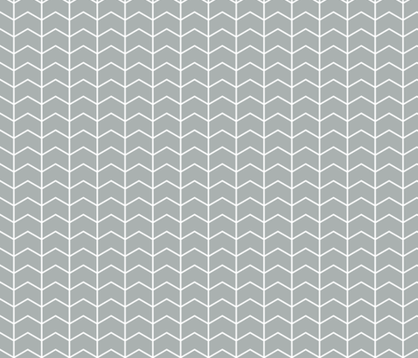 chevron // grey - Northern Lights fabric by littlearrowdesign on Spoonflower - custom fabric