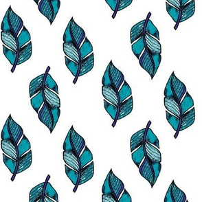 Feathers_Blue