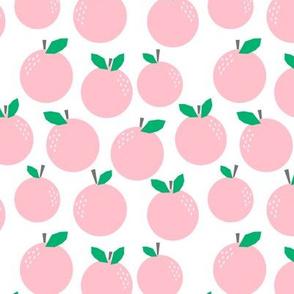 oranges pink citrus tropical pink grapefruit design