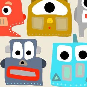 summer baby robots