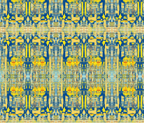 Yesterday Reflecting fabric by menny on Spoonflower - custom fabric