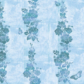 Simone Chinoiserie on atmosphere blue