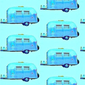Blue Bambi II Airstream Trailer