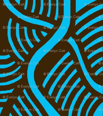 Serpentine Waves Aqua 2
