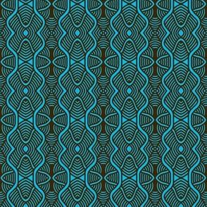 Serpentine Waves Aqua 1