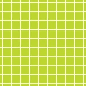 Lime Green Grid