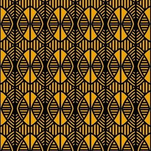 Shields and Shutters Gold Black