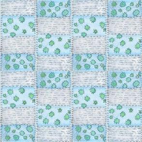 Quilt- Blue
