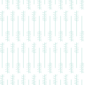Wheat field - White background