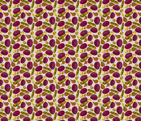 Pickle Galore fabric by bee3 on Spoonflower - custom fabric