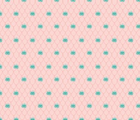 MG_01LG02_Mermaidia-SeaUrchin fabric by muffin_grayson on Spoonflower - custom fabric