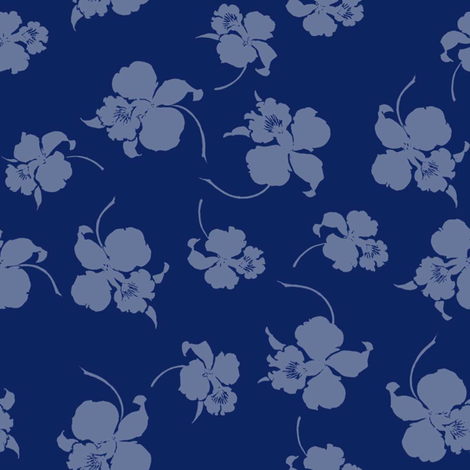 Flora fabric by lilyoake on Spoonflower - custom fabric