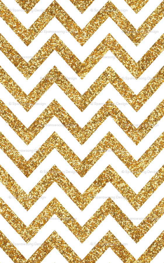 Small Scale Glitter Chevron Wallpaper