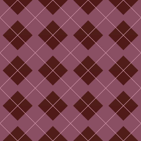 Asuna Plaid fabric by sparklepipsi on Spoonflower - custom fabric