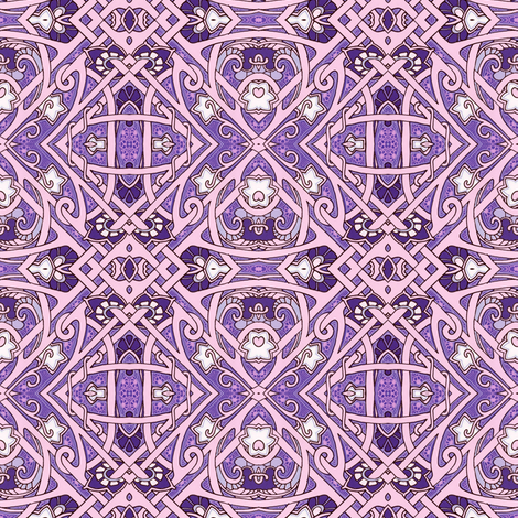 Let Us Behold Lattice fabric by edsel2084 on Spoonflower - custom fabric