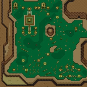 Dark World Map Left Side