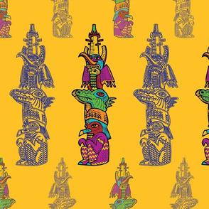 Totem Pattern Small