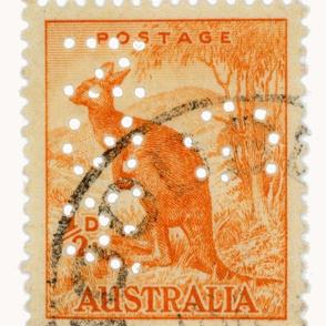 Australian stamp- large