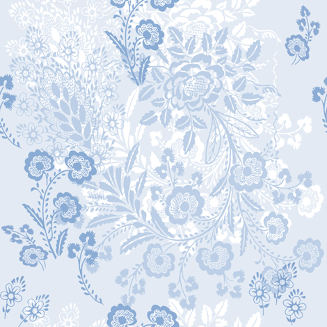 Lizzie fabric by lilyoake on Spoonflower - custom fabric