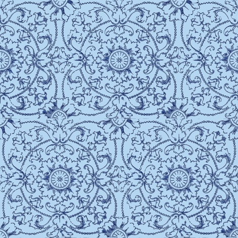 Kitchen Tiles fabric by amyvail on Spoonflower - custom fabric