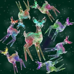 Cosmic Deer green