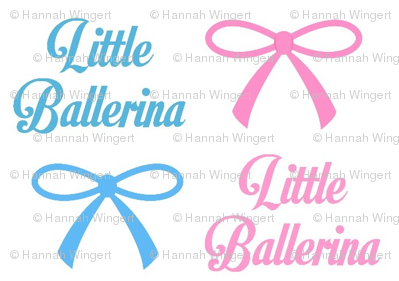 Bows and Little Ballerinas