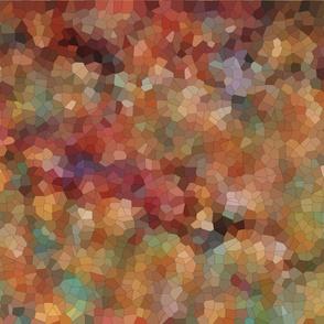 Mosaic Landscape, Falling Leaves