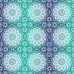 Sea breeze mandalas