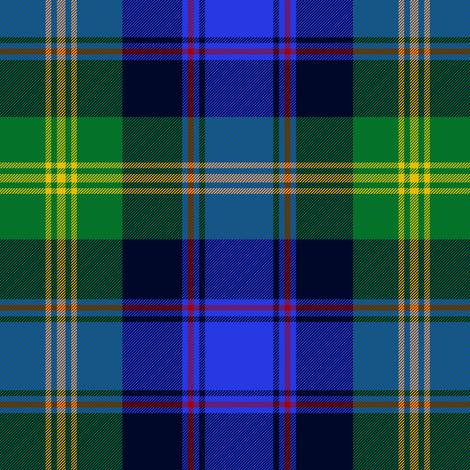 Watson clan tartan fabric by weavingmajor on Spoonflower - custom fabric