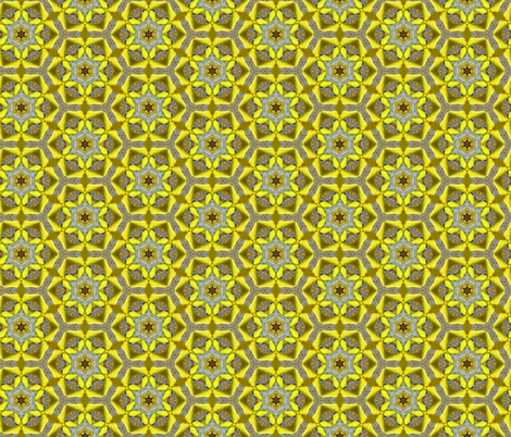 Forsythia #2 fabric by bahrsteads on Spoonflower - custom fabric