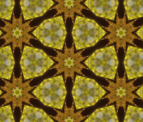 Forsythia #4 fabric by bahrsteads on Spoonflower - custom fabric