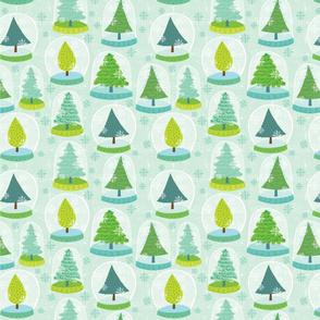 Snowglobe-pattern