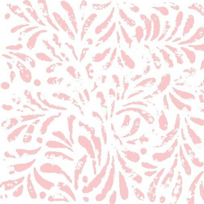 Trellis lace in blush