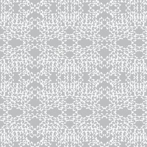 Open lace in grey