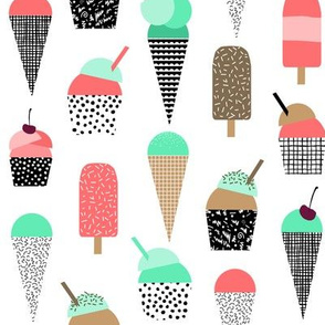 ice cream summer popsicle bright ice cream summer baby design