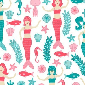 Mermaids & Friends
