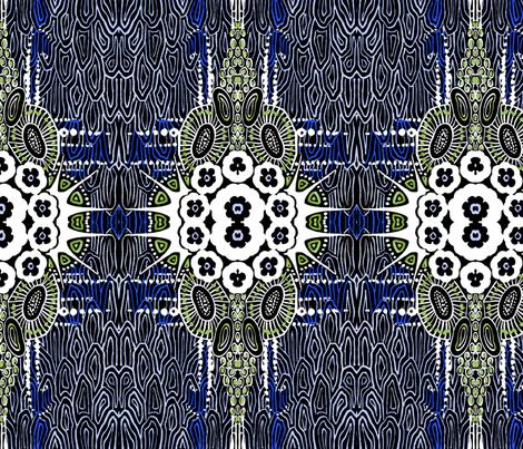 modern1blue fabric by craftyscientists on Spoonflower - custom fabric
