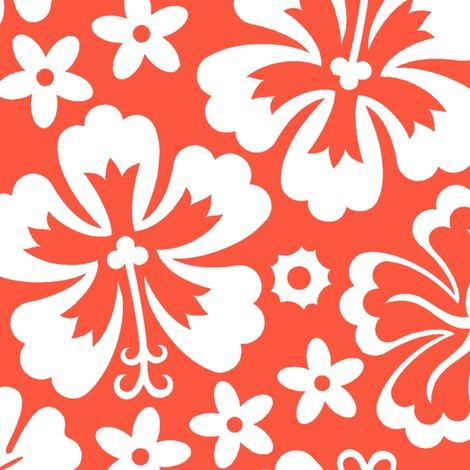 aloha flowers 7f fabric muhlenkott spoonflower