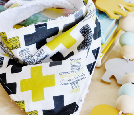 Gender Neutral mustard yellow plus sign plus cross geometric modern aztec summer patterns