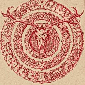 skullflowersredbeige