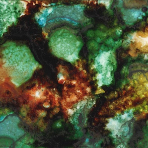 Geode I, Malachite