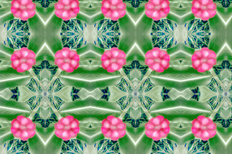 Ginger Lilies  fabric by pila_fashion_design on Spoonflower - custom fabric
