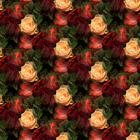 Rose Garden fabric by arts_and_herbs on Spoonflower - custom fabric