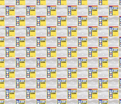 Old Bay fabric by jesseesuem on Spoonflower - custom fabric